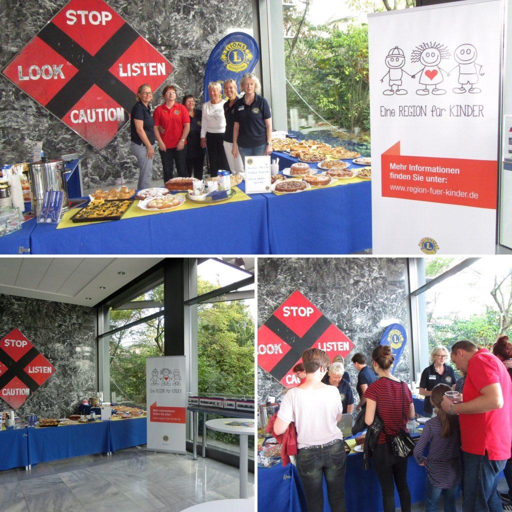 Lions Club die Leoniden: Mitarbeitertag bei Alstom